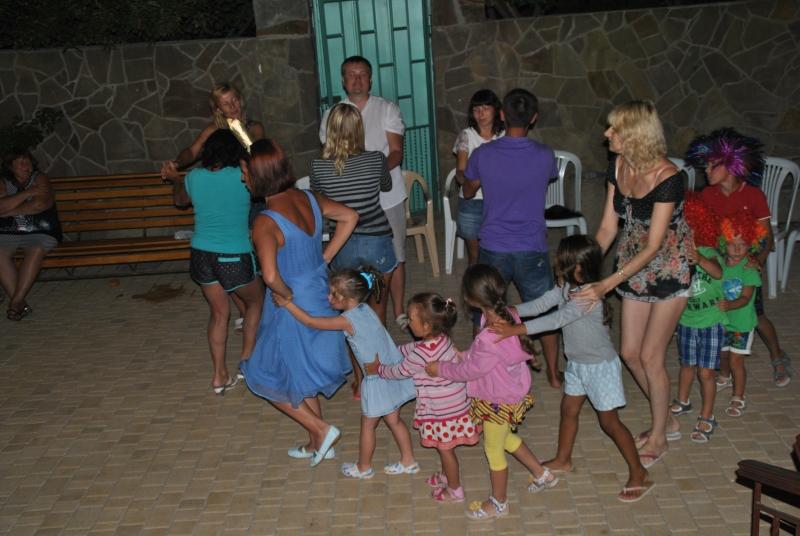 Семейный отдых в Поповке