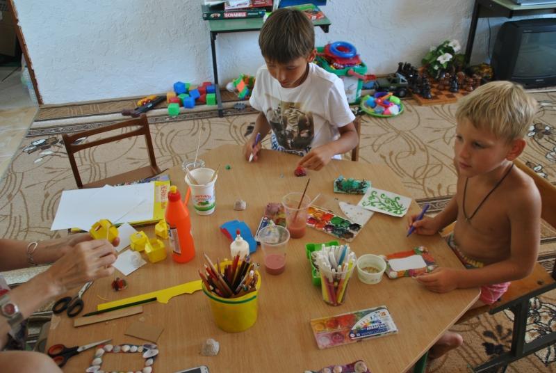 Крым и детский отдых на море
